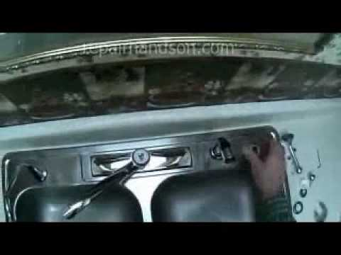 Delta Single Lever Faucet Repair Video