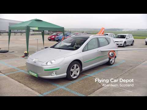 easyJet & Europcar unveil their flying car - Customer Agent