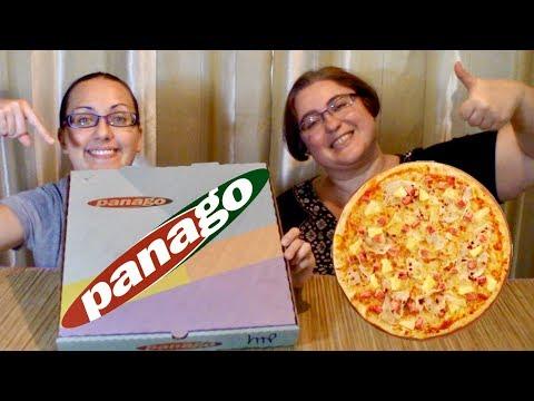 Panago Hawaiian Pizza | Gay Family Mukbang (먹방) - Eating Show