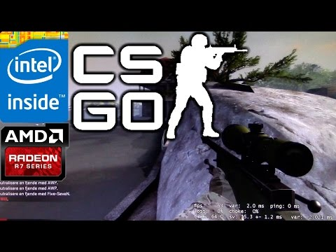 Intel Celeron G1820 + Radeon HD 6750 (CS:GO) (DANISH) 1080P!