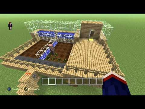 Easy Auto Replanting Wheat Farm for Minecraft Xbox One Edition