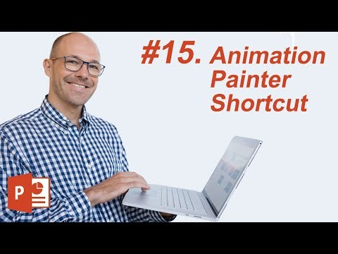 #15: Animation Painter Shortcut (Microsoft PowerPoint Shortcuts)