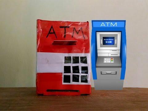 How to make a ATM Machine Piggy Bank - Easy Tutorials
