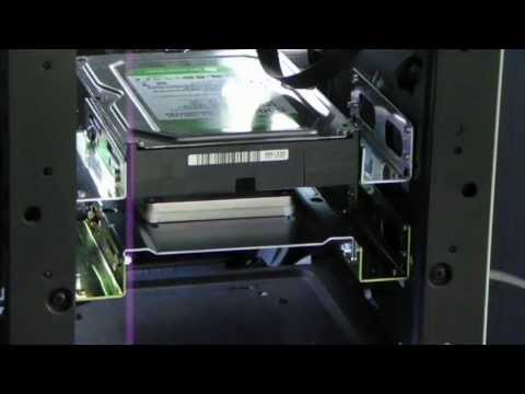 Installing a Hard Drive or SSD in the 5.25' Bay, or DVD Drive Bay Improves Airflow