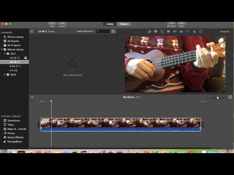 SUPER EASY - Insert pictures into a video on iMovie! 2017-2018