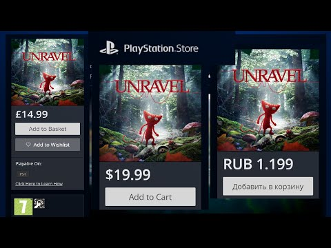 In which of PS Store Unravel is cheaper?