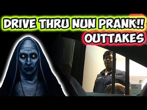 Drive Thru Nun Prank Outtakes!