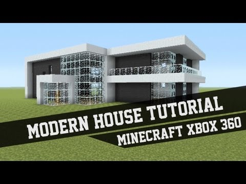 Large Modern House Tutorial - Minecraft Xbox 360 #1