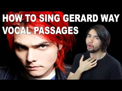 How To Sing Intense HIGH NOTES like Gerard Way