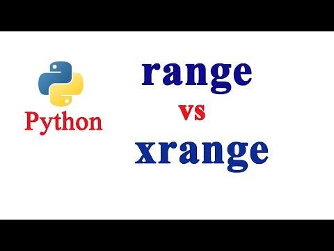 Python Tutorial - range vs xrange function - PakVim net HD