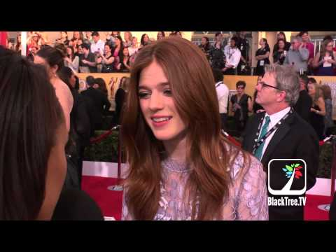 Game of Thrones Rose Leslie hits the red carpet for SAG Awards