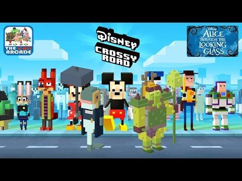 Disney Crossy Road - Alice Through The Looking Glass Edition (iOS/iPad Gameplay)