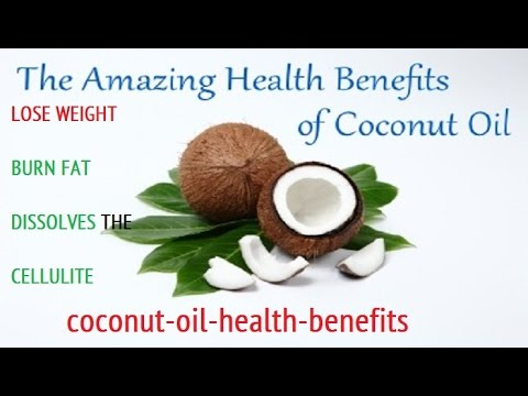 How To Lose 17 Pounds Of Your Weight By Coconut Oil - Burn Fat - Dissolves The Cellulite