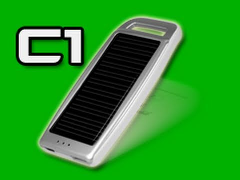 Arctic C1 Portable Solar Battery Charger