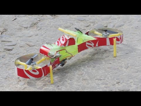 How to Make Flying Hoverbike | Flying Motorcycle | Coca Cola | DIY