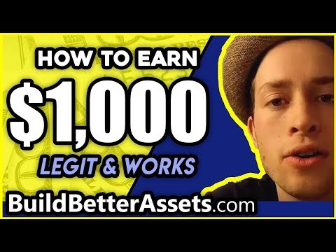 Make 1000 dollars fast  - Quickly make 1000 dollars online