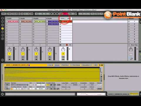 Ableton Live Tutorial - Shaping Sounds with Sampler
