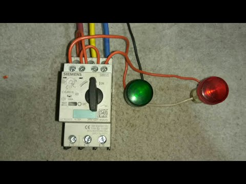 ON OFF Indication Wiring of MPCB Motor Protection Circuit Breaker   Electric Guru