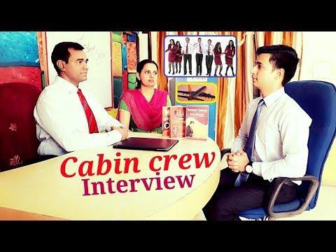 Cabin Crew Interview for Men : Male Flight Attendant Interview