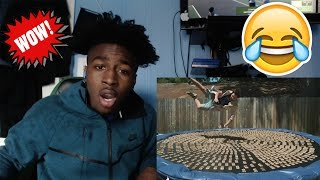 Diving into 1000 Mousetraps in 4K Slow Motion   The Slow Mo Guys |Reaction |The Slow Mo Guy