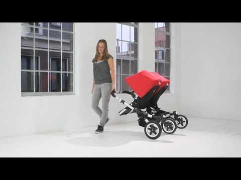 Two-wheeled mode | Bugaboo Donkey Twin
