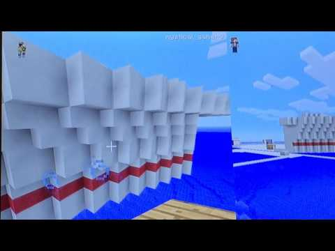 How to build a cruise ship on Minecraft on Xbox 360 edition part4