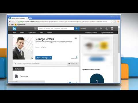How to view someone else's connections list on LinkedIn®