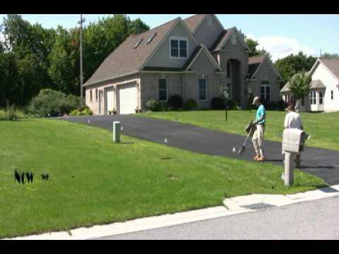 Irrigation Tech installing lawn sprinkler system