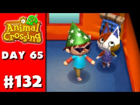 Animal Crossing: New Leaf - Part 132 - Cat Games (Nintendo 3DS Gameplay Walkthrough Day 65)