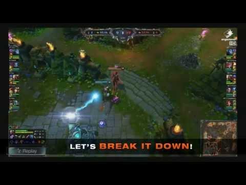 Break Down of Faker's Zed Play ( SKT T1 vs KT Bullets )