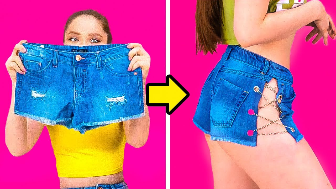 Upgrade Your Old Clothes! 33 Clothes Transformation Ideas
