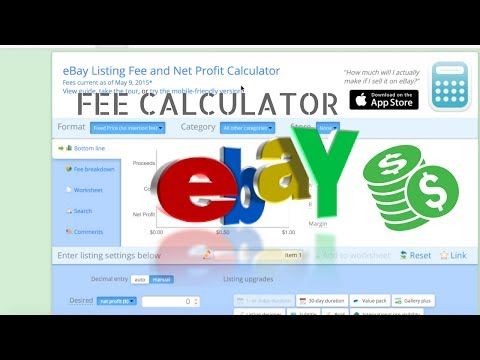 Calculating eBay & PayPal Seller Fees