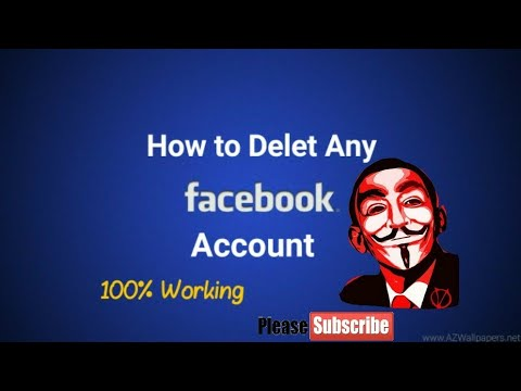 How to delete any fb account permanently