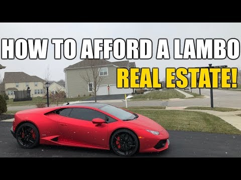 The Real Estate Project That Pays For My Lamborghini...