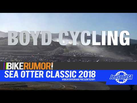 SOC18 - Boyd Cycling rolls out new carbon tubeless road, cyclocross wheels