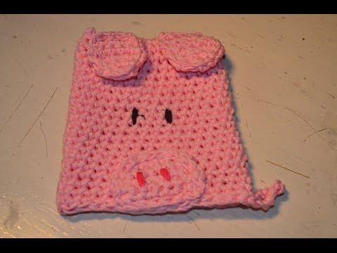 Washcloth - Crochet - Tutorial - English
