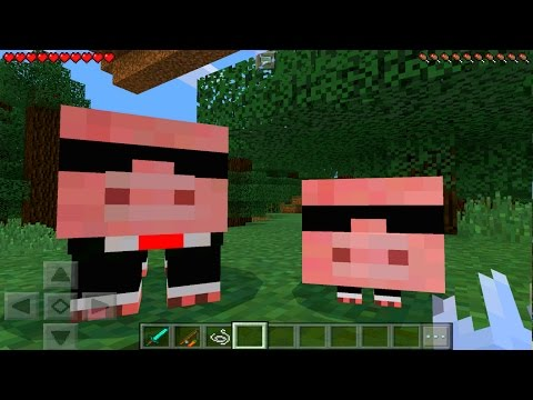 Minecraft Pe - How To Spawn The Agent Pig - Minecraft Pocket Edition!!!