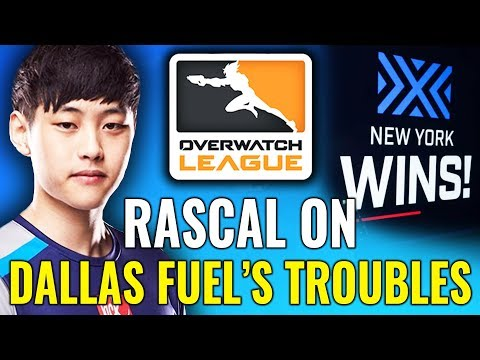 Rascal on Dallas Fuel's Troubles & New York WIN $100,000 [Overwatch League News & Highlights]