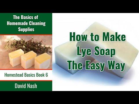 Super Easy Lye Soap Technique