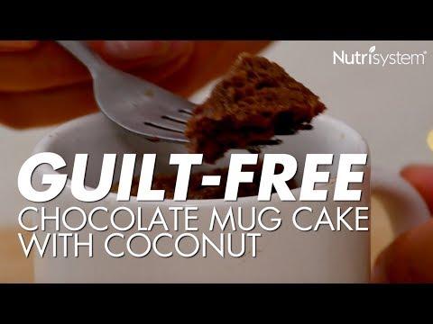 Chocolcate Mug Cake With Coconut Recipe