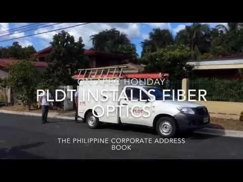 PLDT INSTALLS FIBER OPTICS ON APEC HOLIDAY