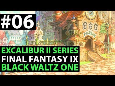 Final Fantasy 9 PS4 Walkthrough - EXCALIBUR 2 PERFECT GAME - Ice Cavern & Black Waltz 1 Boss D1-06