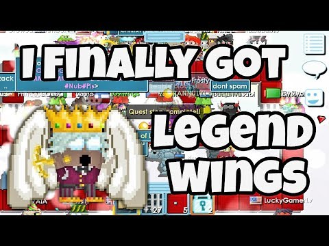 I GOT LEGEND WINGS !!!! | Growtopia