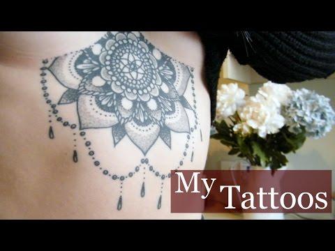 My Tattoos! Pain, Aftercare, Advice | Jasmine McRae