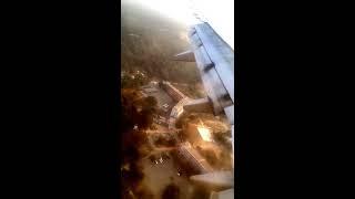 Chandigarh to Delhi Spicejet Flight SG127 landing in Delhi | Clear Weather