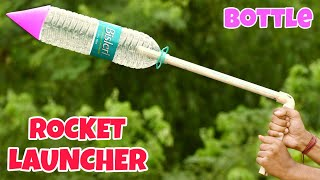 Homemade Powerful Bottle Rocket Launcher || Simple Bottle Rocket
