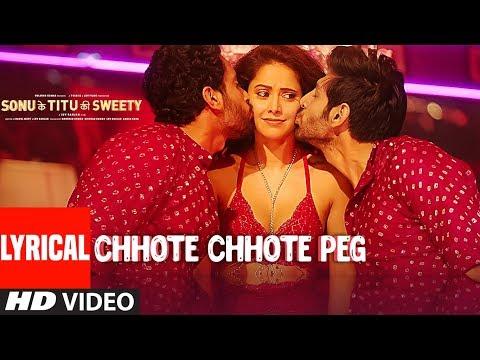 Xxx Mp4 Chhote Chhote Peg LYRICAL Yo Yo Honey Singh Neha Kakkar Navraj Hans Sonu Ke Titu Ki Sweety 3gp Sex
