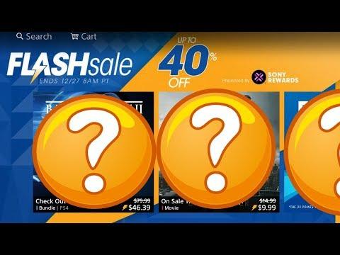 PS4 FLASH SALE Christmas 2017 - Triple A Titles DEALS - PSN Flash Sale December