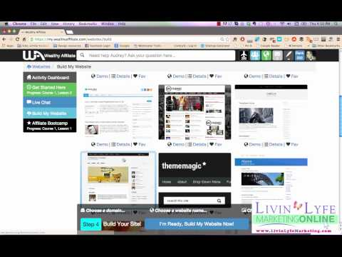 Wealthy Affiliate - A behind the scenes tour like you've never seen before