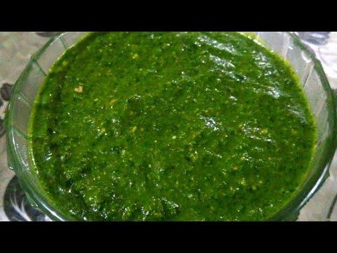 તીખી ચટણી બનાવવાની અને લાંબો સમય સાચવવાની રીત||easy green chilli chutney